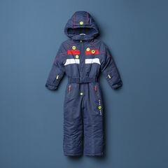 Αδιάβροχη ολόσωμη φόρμα του σκι Smiley με φλις επένδυση