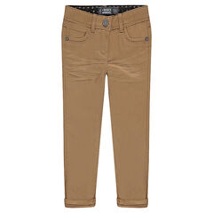 Παιδικά - Μονόχρωμο παντελόνι από τουίλ σε slim γραμμή