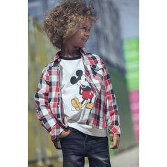 T-shirt με μανίκια σχέδιο Mickey Disney για αγόρι , Orchestra