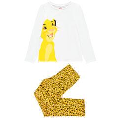 Πιτζάμα με οργανικό βαμβάκι για κορίτσι σχέδιο Simba Disney , Orchestra