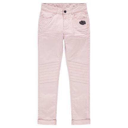 Junior - Τουίλ παντελόνι με τσαλακωμένο στυλ και μπάλωμα σύννεφο