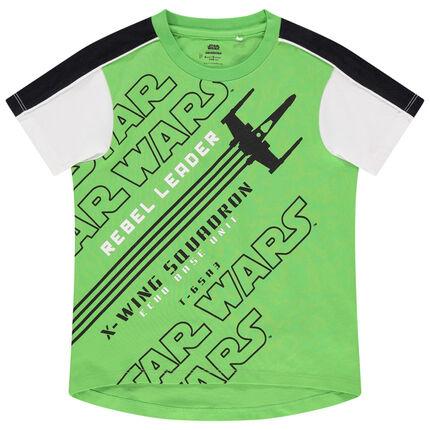 Κοντομάνικη μπλούζα με φράσεις Star Wars