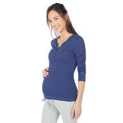 Μακρυμάνικη μπλούζα εγκυμοσύνης για το σπίτι