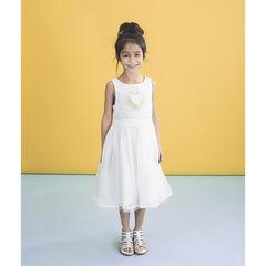 Επίσημο φόρεμα με δαντέλα και χρυσαφί καρδιά