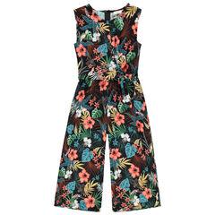 Μακριά ολόσωμη φόρμα με φλοράλ μοτίβο