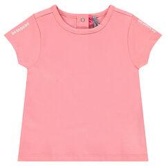 Κοντομάνικη μπλούζα με τύπωμα ίνκα