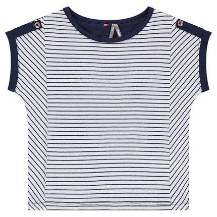 Κοντομάνικη μπλούζα από ζέρσεϊ