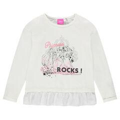 Μπλούζα με βολάν της Disney με τυπωμένες πριγκίπισσες