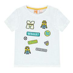 Κοντομάνικη μπλούζα με μπαλώματα Les Minions