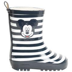 Bottes de pluie rayées Mickey Disney pour bébé garçon , SAXO BLUES