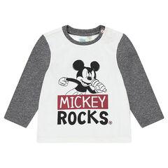 Μακρυμάνικη μπλούζα από ζέρσεϊ με στάμπα Μίκυ της Disney