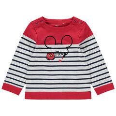 Μαρινιέρα με ρίγες και στάμπα Mickey της Disney