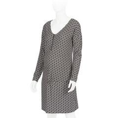 Robe de grossesse et d'allaitement imprimée avec zip