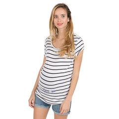 1bb96375958f Κοντομάνικη μπλούζα εγκυμοσύνης ...