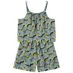 Παιδικά - Εμπριμέ ολόσωμη φόρμα με έθνικ μοτίβο και άνοιγμα στην πλάτη