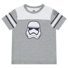 Κοντομάνικη δίχρωμη μπλούζα Star Wars™ με στάμπα Stormtrooper