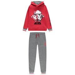 Παιδικά - Φόρμα από φανέλα με στάμπα Stormtrooper από το Star Wars