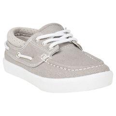 Χαμηλά παπούτσια υφασμάτινα σε ναυτικό στυλ σε νούμερο 24 έως 27