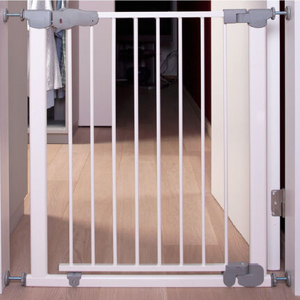 Κάγκελα ασφαλείας Ottométal με αυτόματο κλείσιμο - Λευκό