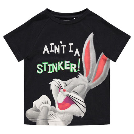 Κοντομάνικη μπλούζα με στάμπα Bugs Bunny της ©Warner/Looney Tunes