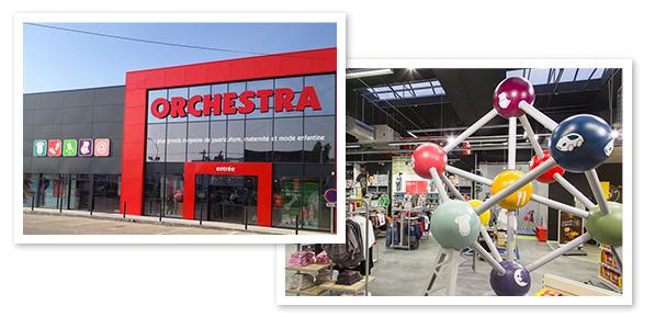nouveau concept magasin Orchestra