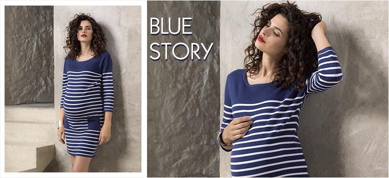 theme maternités future maman blue story vêtement orchestra prémaman 2016